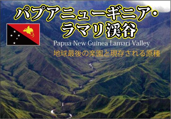パプアニューギニア・ラマリ渓谷